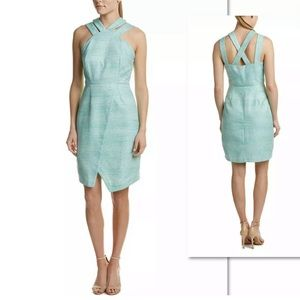 HUTCH FOR ANTHROPOLOGIE DOUBLE CRISS CROSS DRESS
